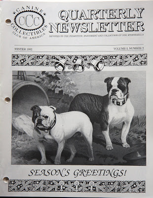 CANINE COLLECTIBLES CLUB OF AMERICA – INDEX