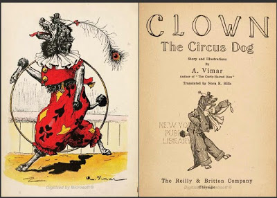 AUGUSTE VIMAR'S CLOWN THE CIRCUS DOG (BOOK)