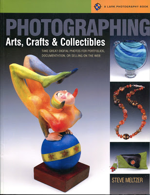 book review: PHOTOGRAPHING ARTS, CRAFTS AND COLLECTIBLES by Steve Meltzer