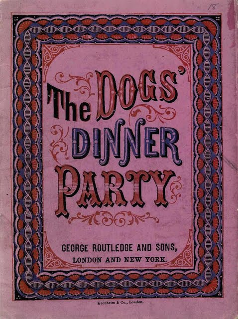 THE DOGS' DINNER PARTY (BOOK)