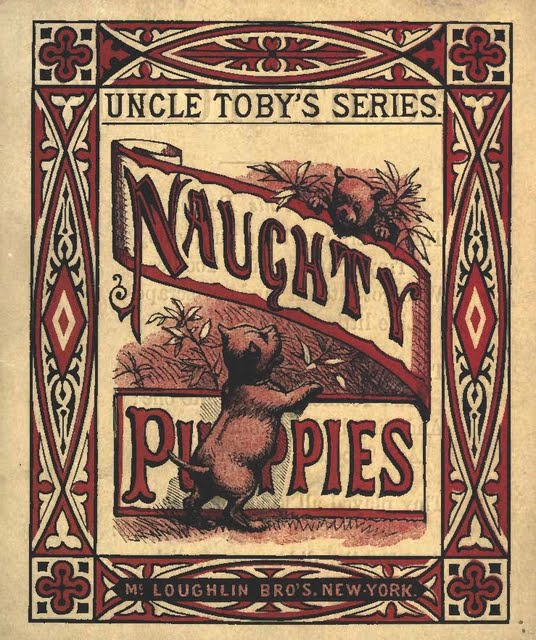 NAUGHTY PUPPIES (Book)