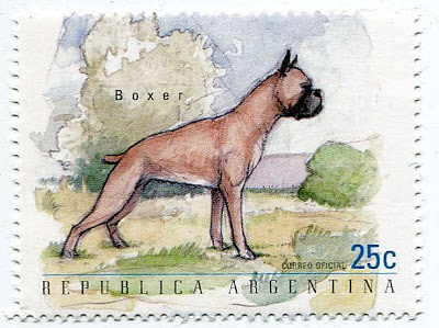 1999 Argentina Dogs Postage Stamps