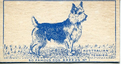 1952 Carreras Turf Famous Dog Breeds Cigarette Cards