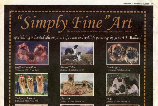 DOG COLLECTIBLES SCRAPBOOK – BOOK ONE CHAPTER THREE